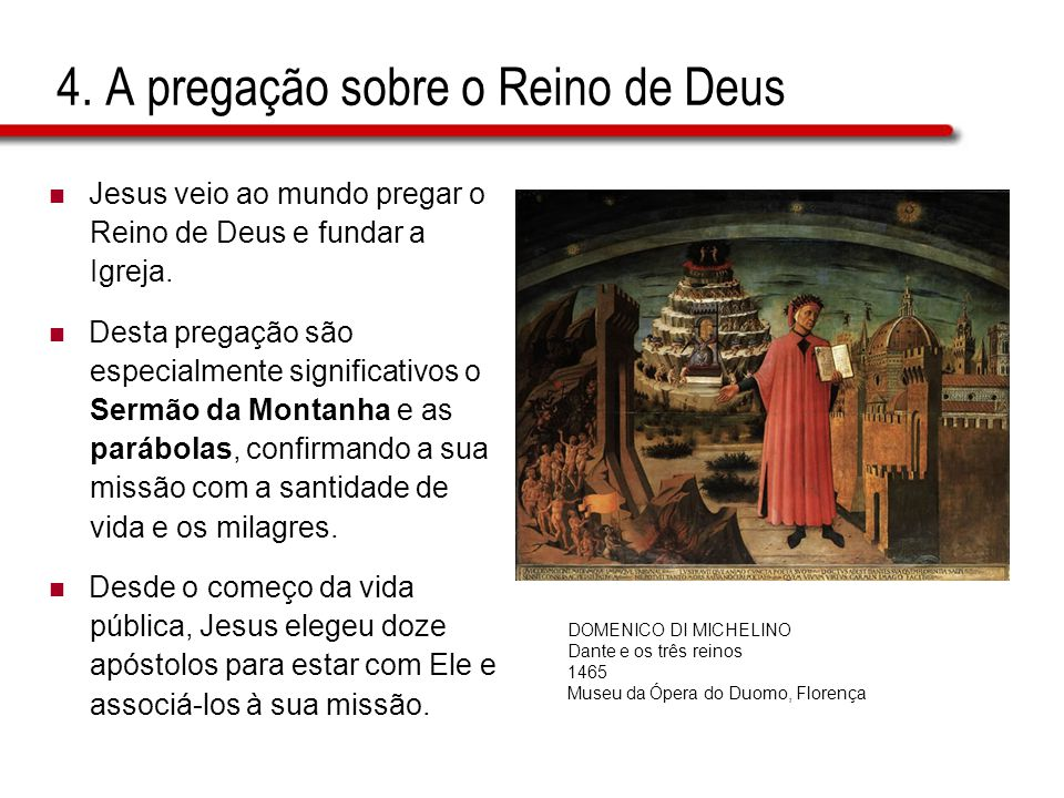 4. A pregação sobre o Reino de Deus