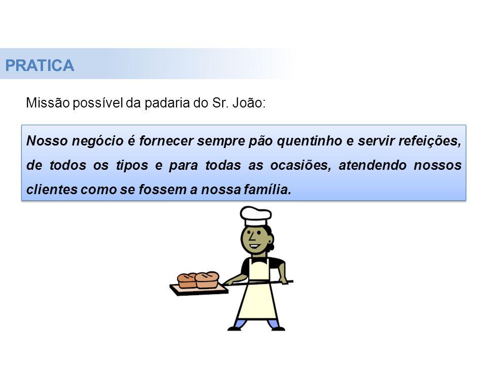 PRATICA Missão possível da padaria do Sr. João: