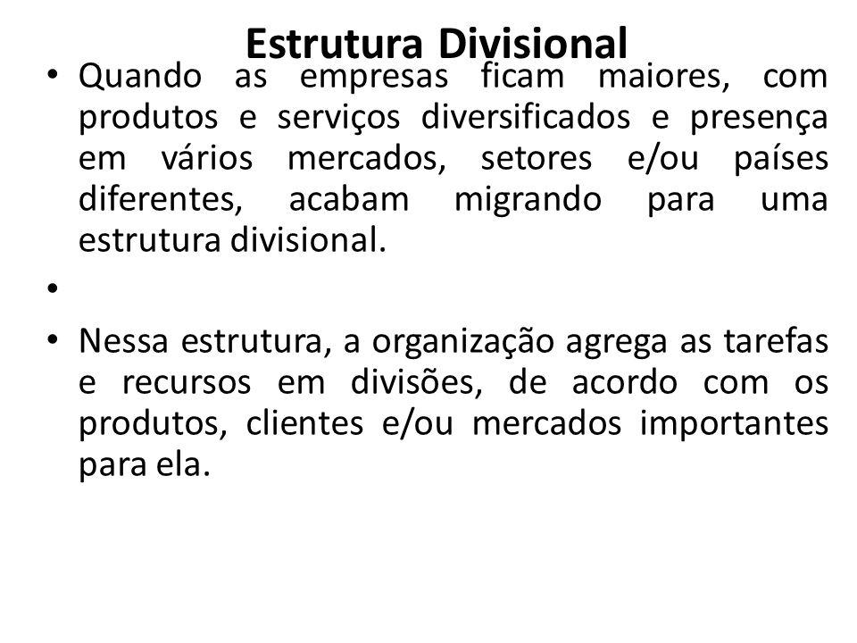Estrutura Divisional