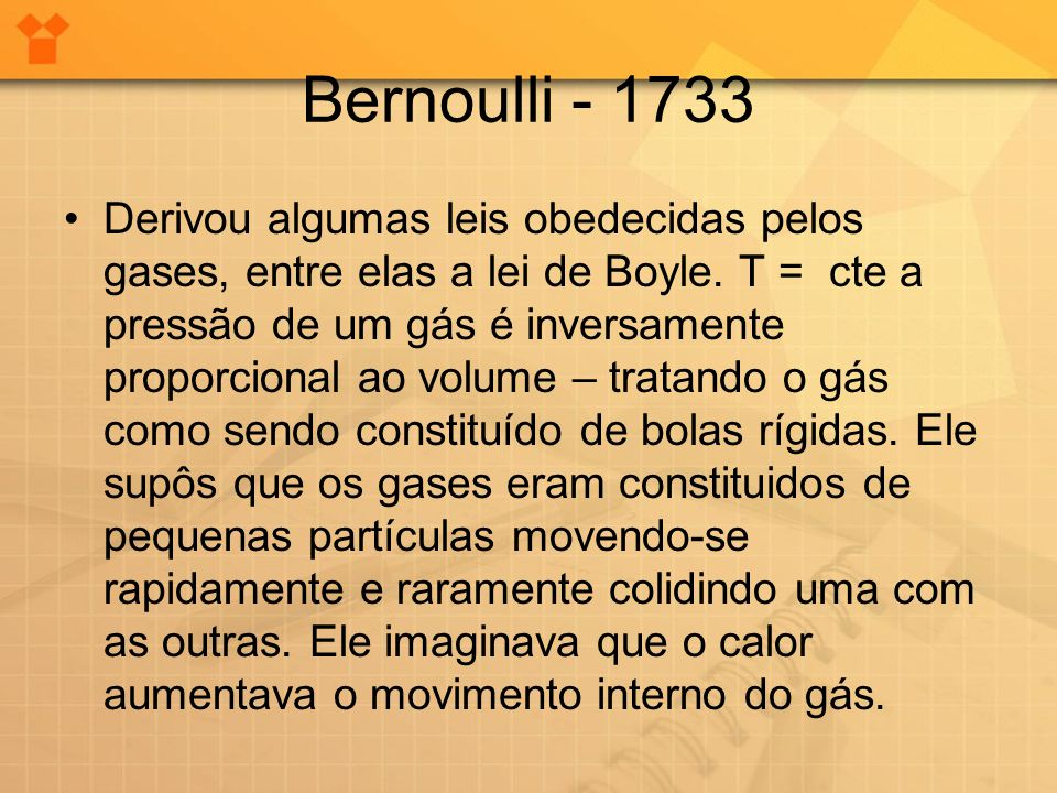 Bernoulli - 1733