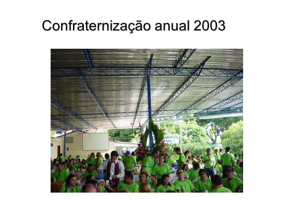 Confraternização anual 2003