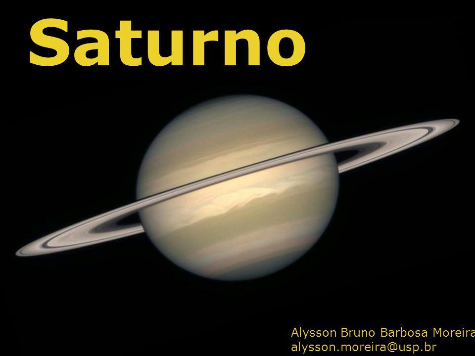 Saturno Alysson Bruno Barbosa Moreira alysson.moreira@usp.br