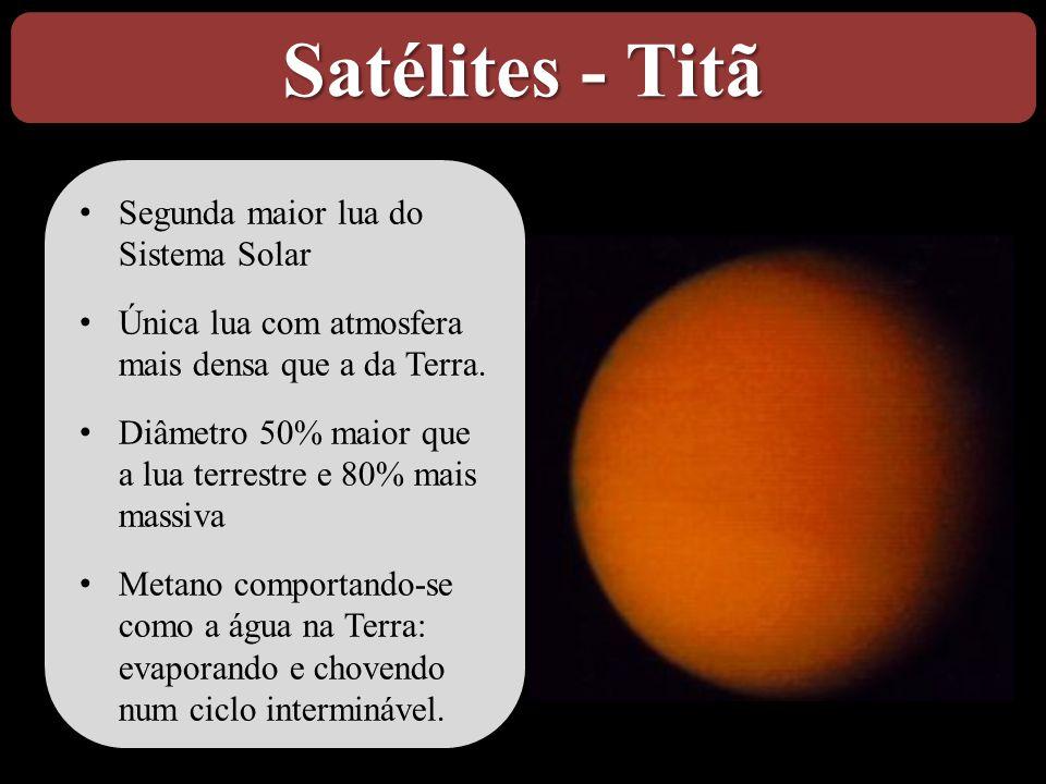 Satélites - Titã Segunda maior lua do Sistema Solar