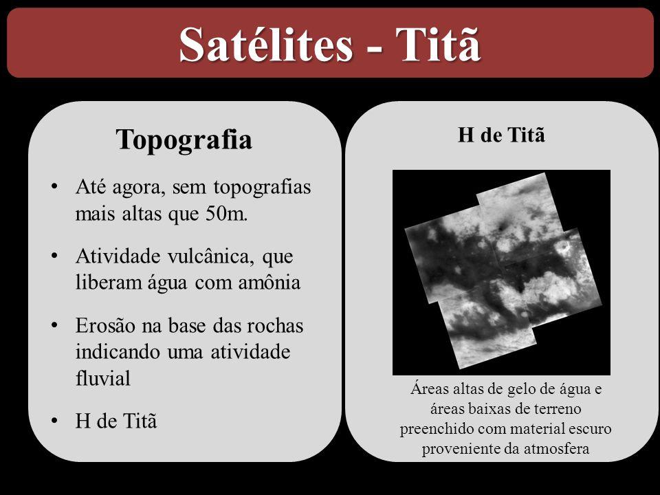 Satélites - Titã Topografia H de Titã