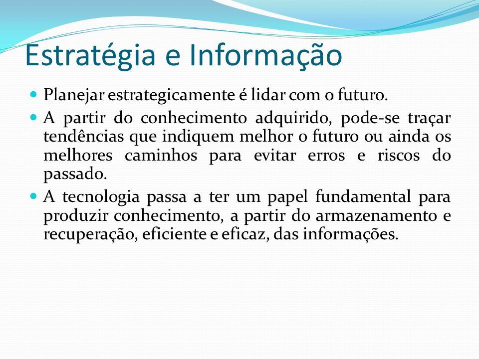 Estratégia e Informação