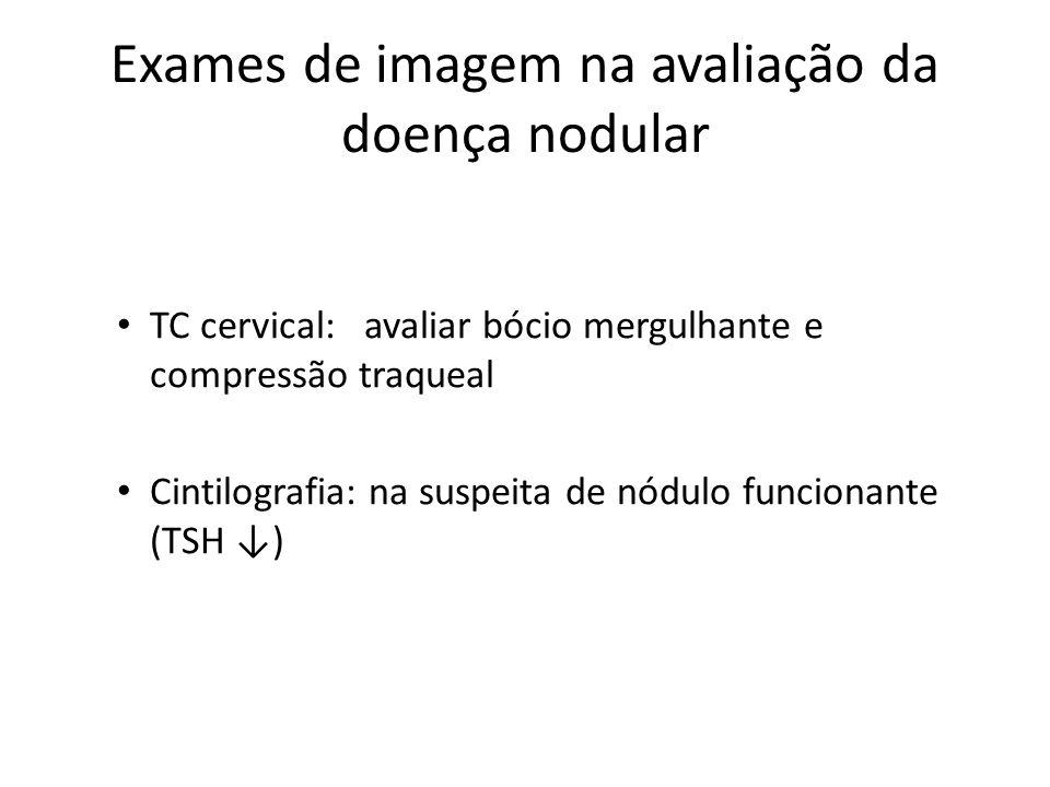 Exames de imagem na avaliação da doença nodular