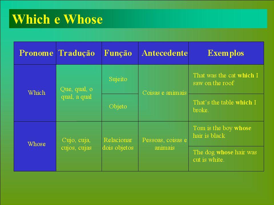 Which e Whose
