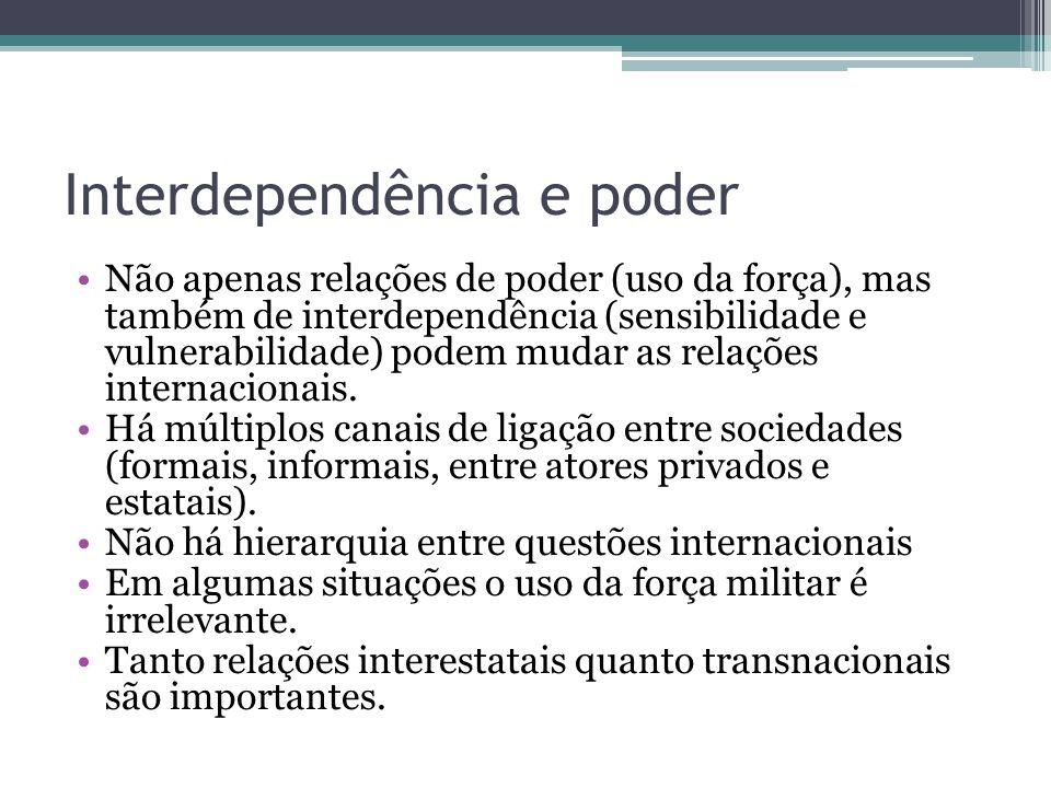 Interdependência e poder