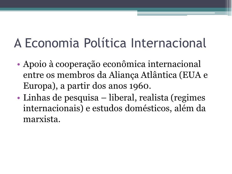 A Economia Política Internacional