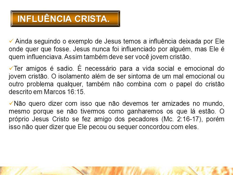 INFLUÊNCIA CRISTA.