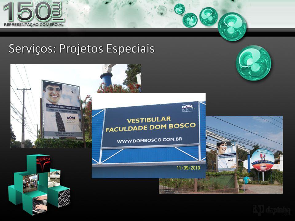 Serviços: Projetos Especiais