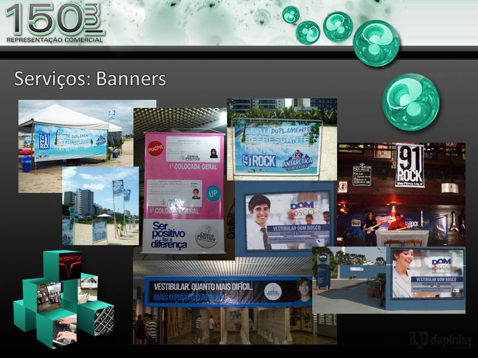 Serviços: Banners