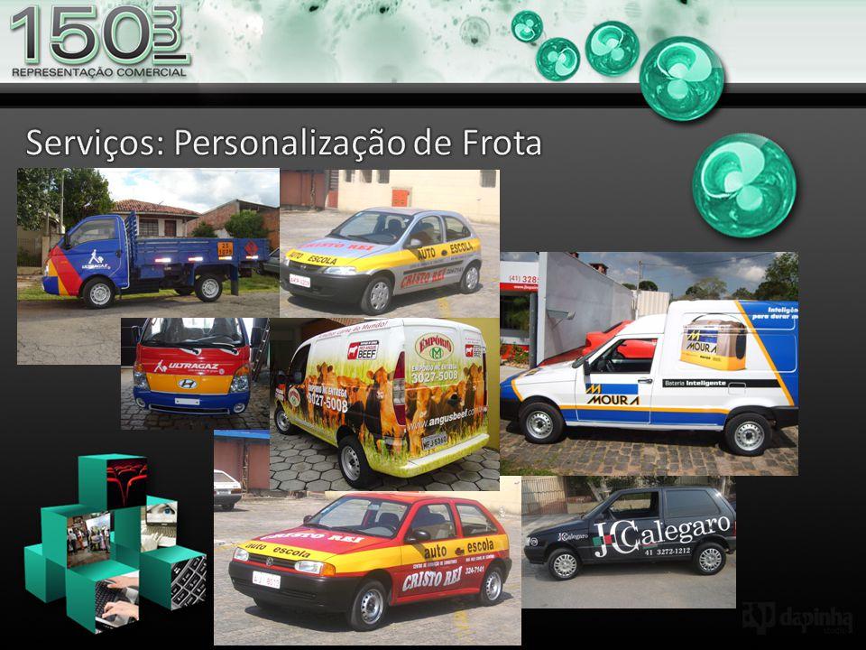 Serviços: Personalização de Frota