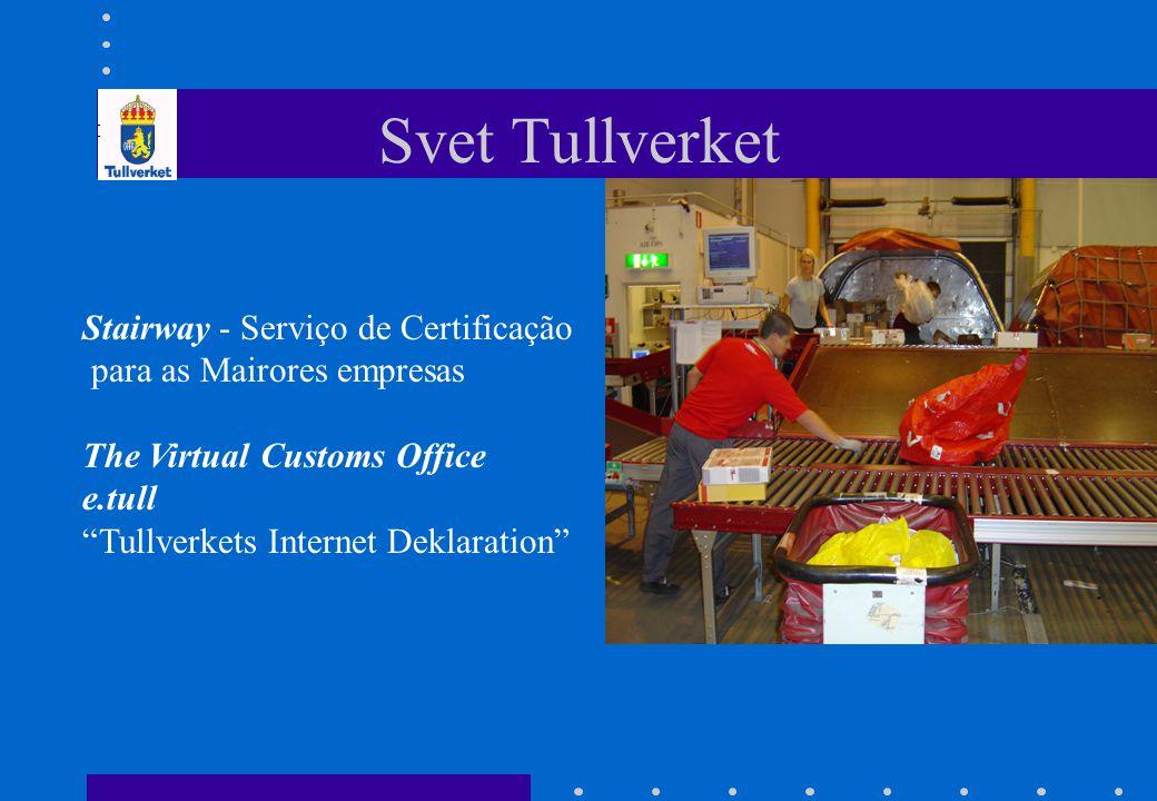 Svet Tullverket Stairway - Serviço de Certificação