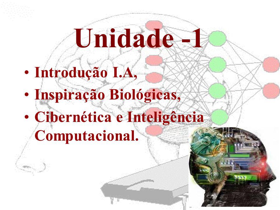 Unidade -1 Introdução I.A, Inspiração Biológicas,