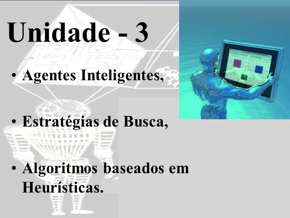 Unidade - 3 Agentes Inteligentes, Estratégias de Busca,