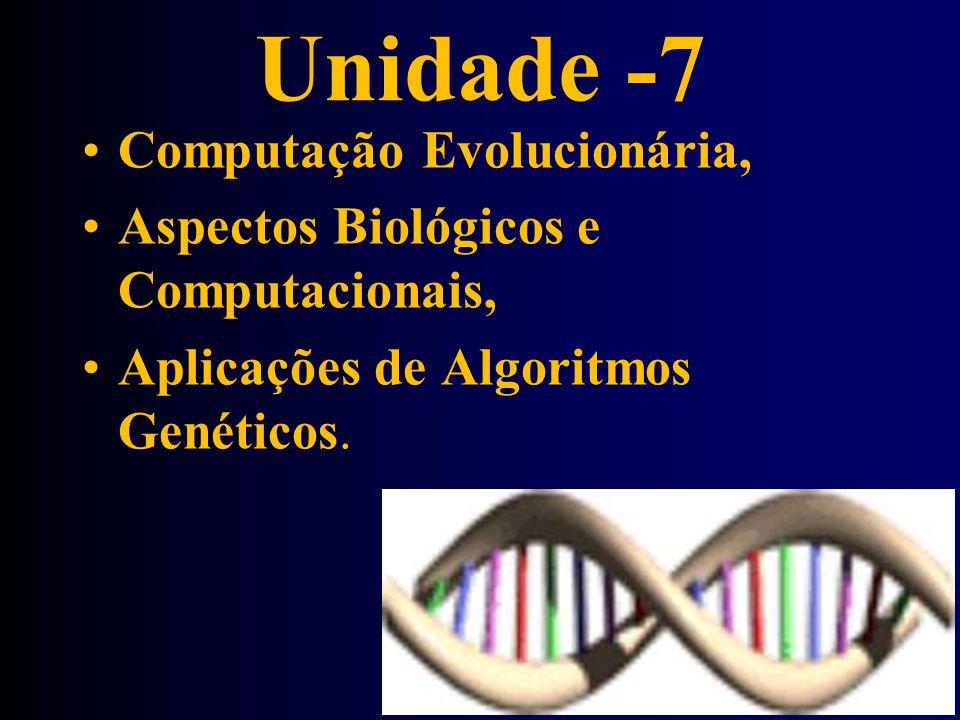 Unidade -7 Computação Evolucionária,