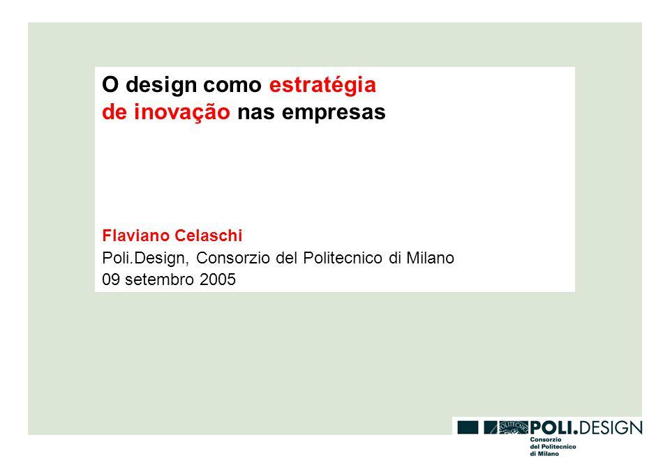 O design como estratégia de inovação nas empresas