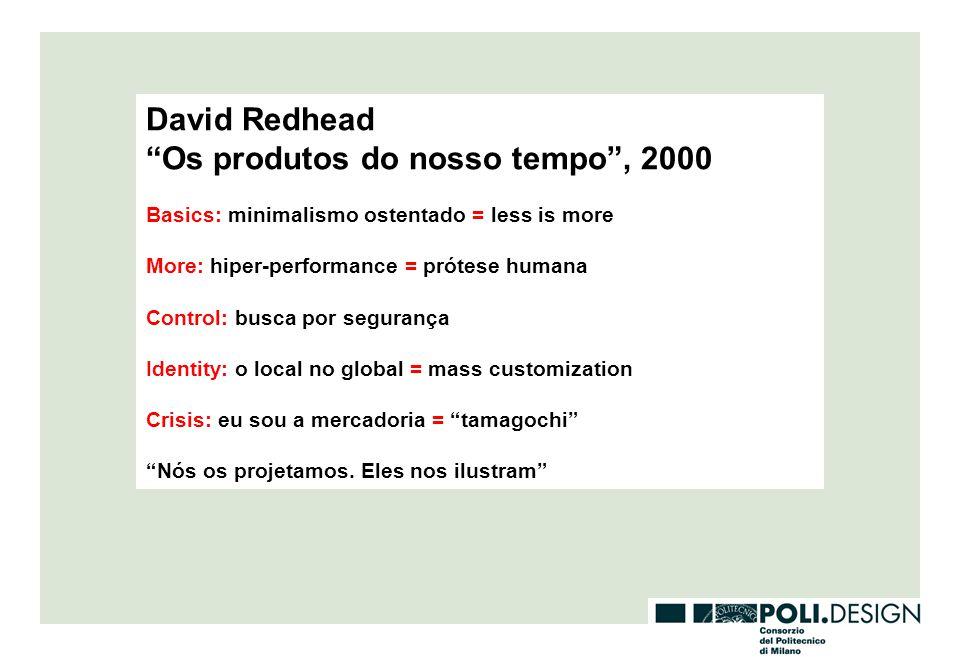 Os produtos do nosso tempo , 2000