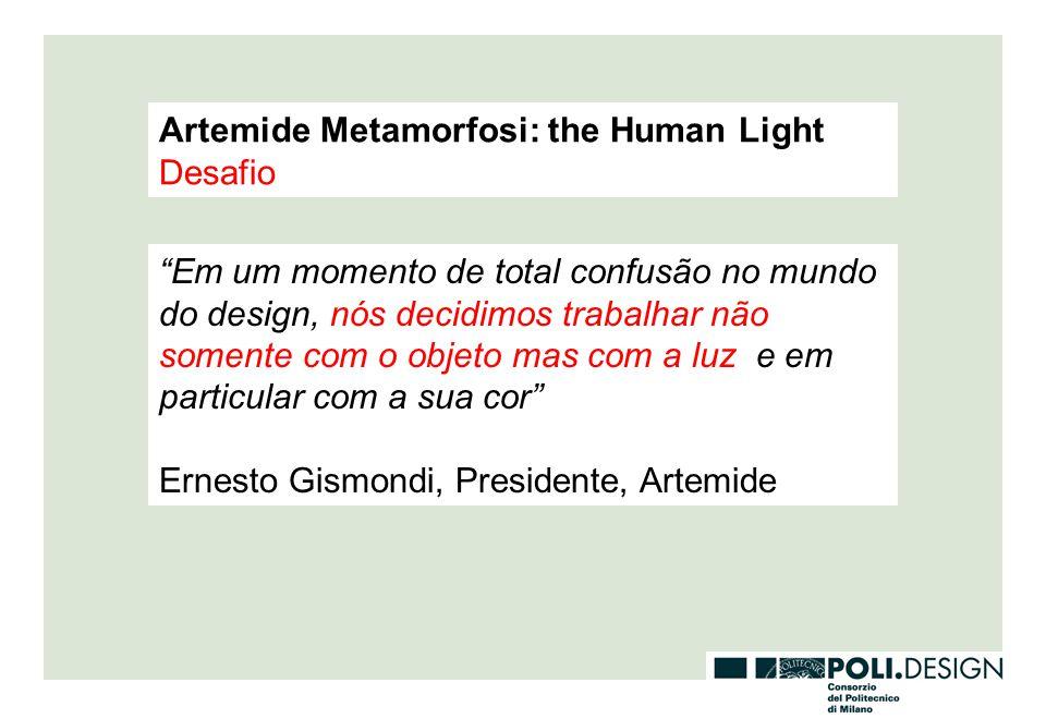Artemide Metamorfosi: the Human Light