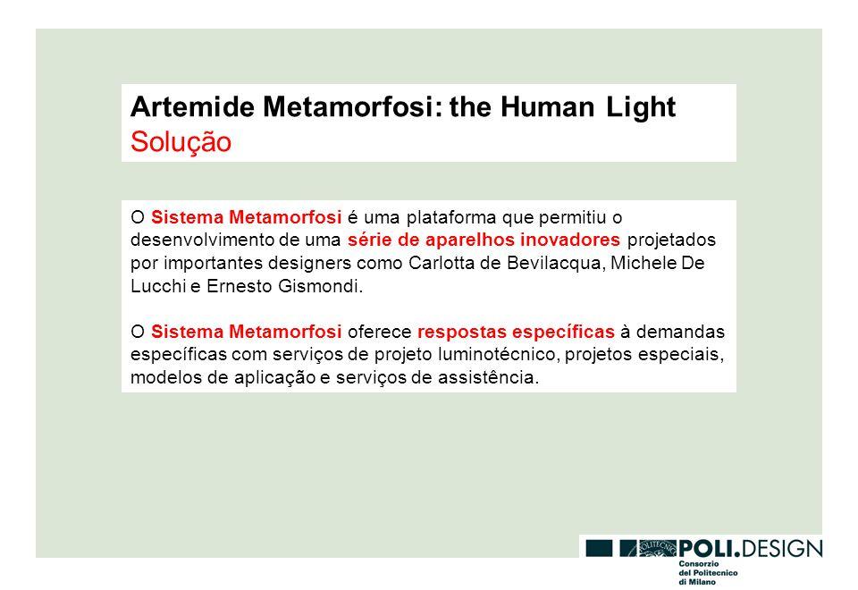 Artemide Metamorfosi: the Human Light Solução