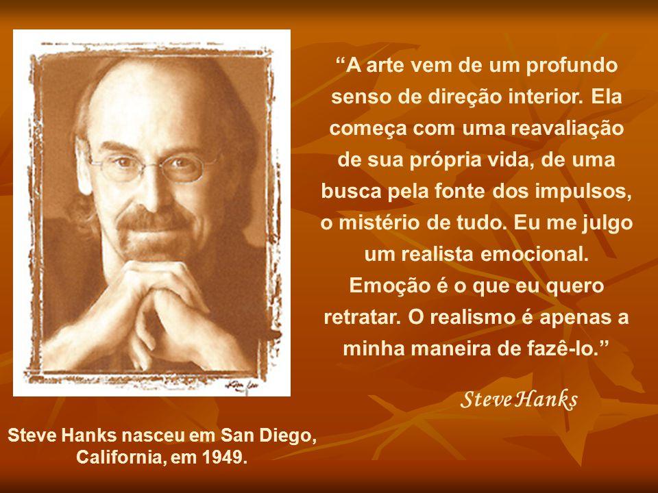 Steve Hanks nasceu em San Diego,