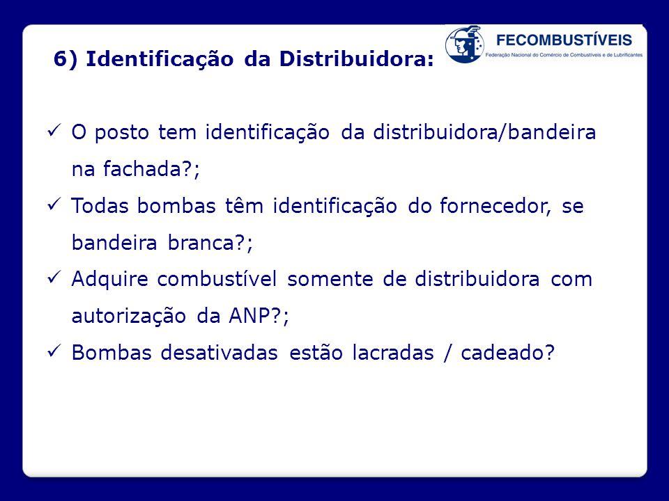 6) Identificação da Distribuidora: