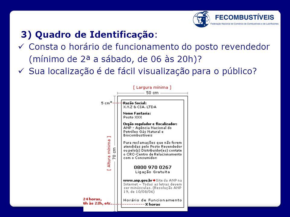 3) Quadro de Identificação: