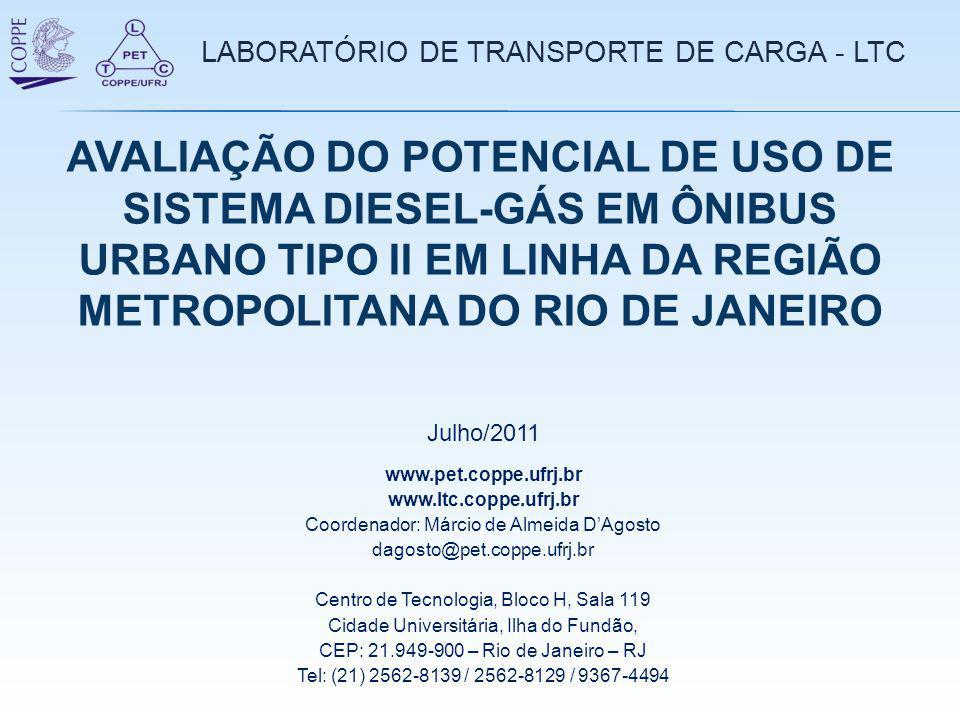 LABORATÓRIO DE TRANSPORTE DE CARGA - LTC