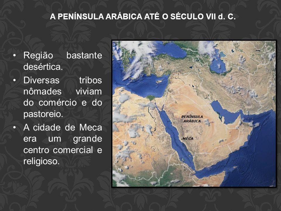 A PENÍNSULA ARÁBICA ATÉ O SÉCULO VII d. C.