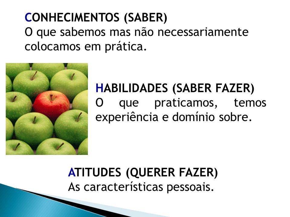 CONHECIMENTOS (SABER)