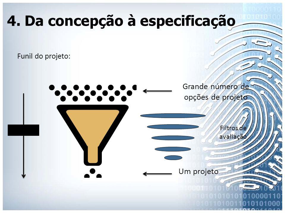 4. Da concepção à especificação