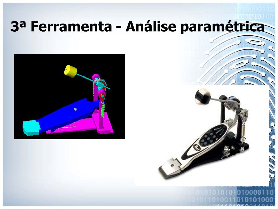 3ª Ferramenta - Análise paramétrica