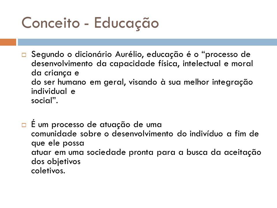 Conceito - Educação