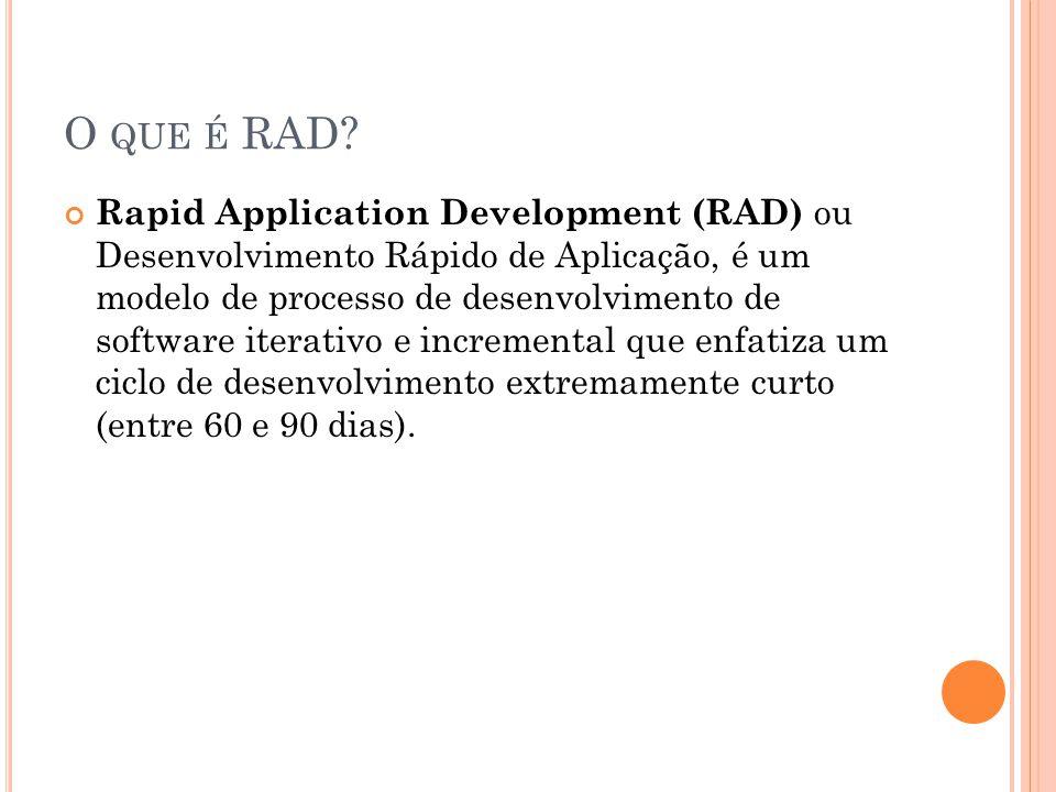 O que é RAD