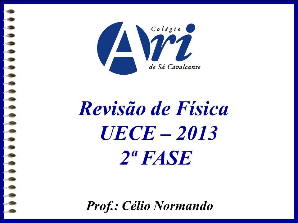 Revisão de Física UECE – 2013 2ª FASE