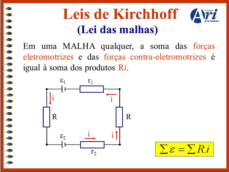 Leis de Kirchhoff (Lei das malhas)