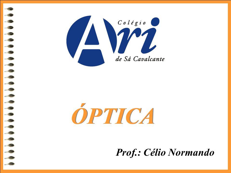 ÓPTICA Prof.: Célio Normando