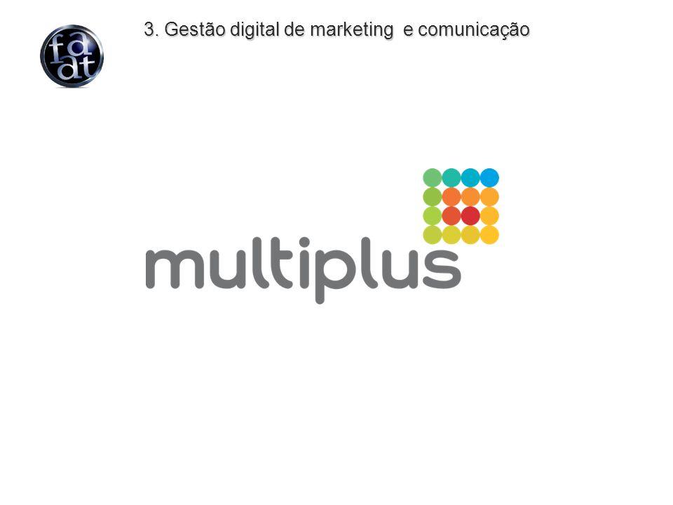 3. Gestão digital de marketing e comunicação