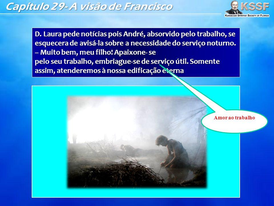 Capítulo 29- A visão de Francisco