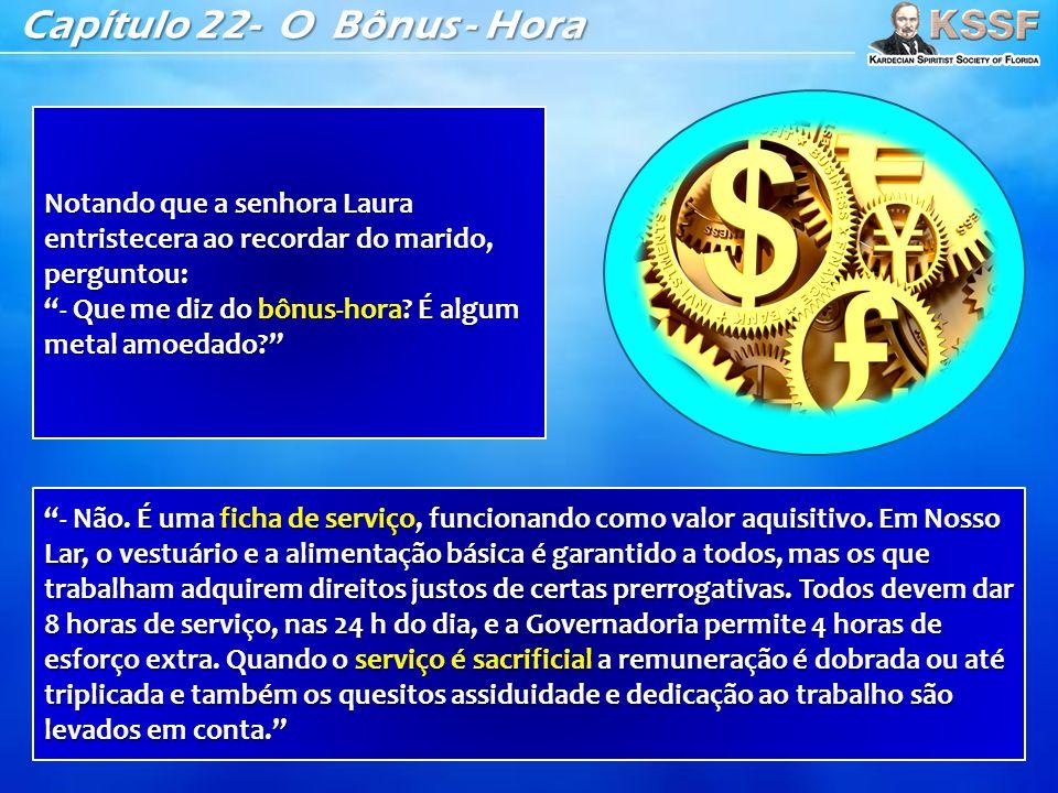 Capítulo 22- O Bônus - Hora