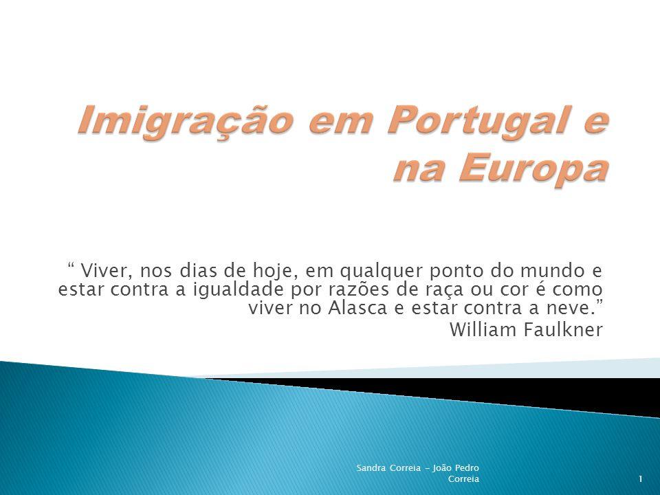 Imigração em Portugal e na Europa