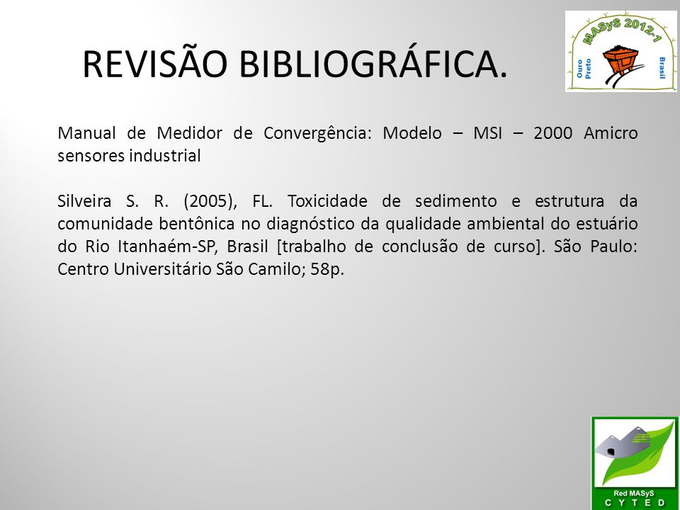 REVISÃO BIBLIOGRÁFICA.