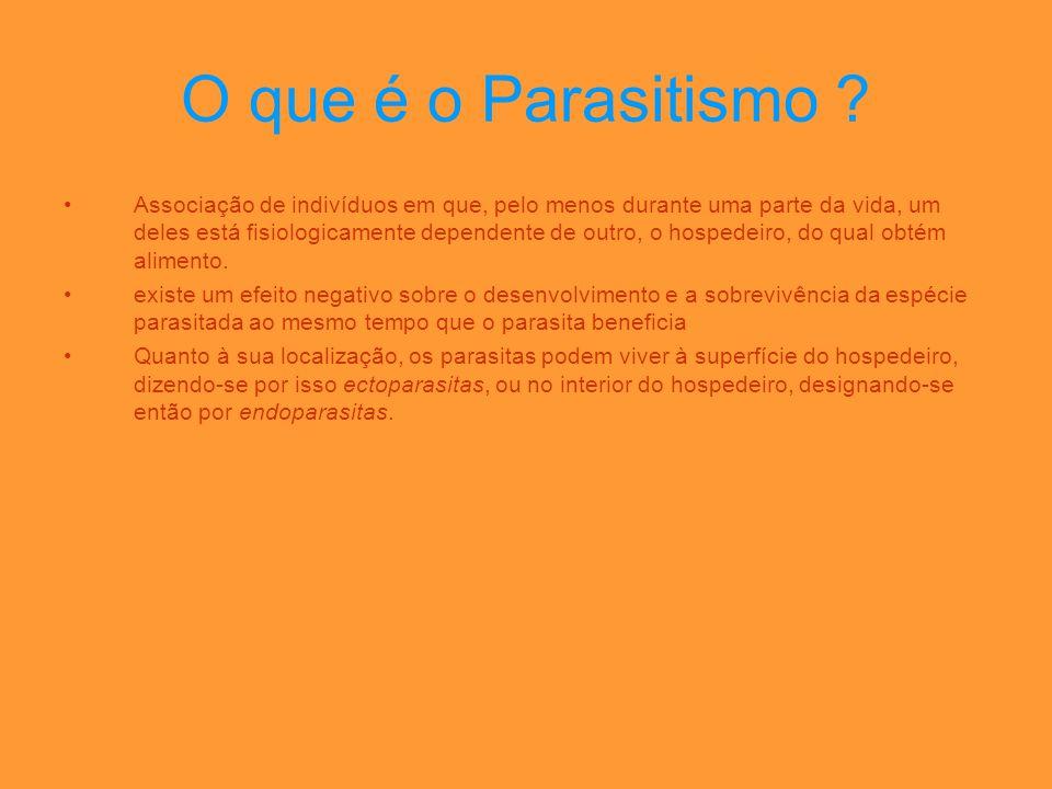 O que é o Parasitismo