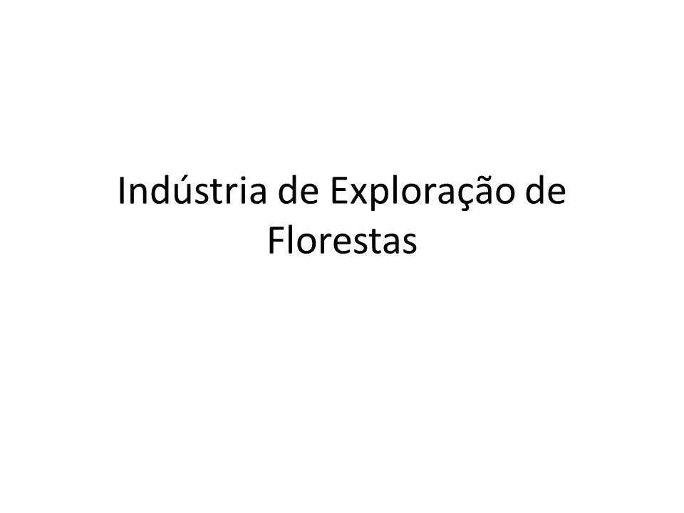Indústria de Exploração de Florestas