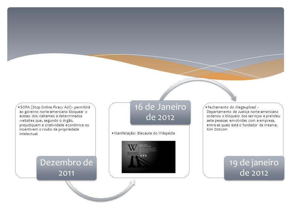 Dezembro de 2011 16 de Janeiro de 2012 19 de janeiro de 2012