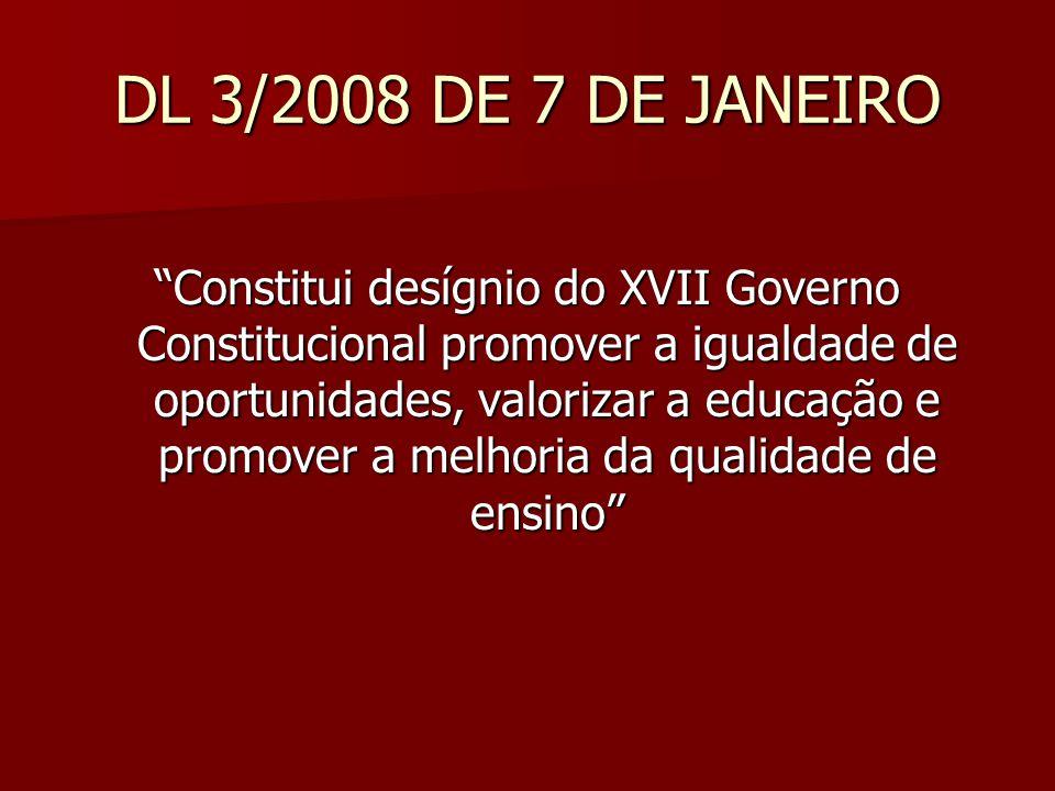 DL 3/2008 DE 7 DE JANEIRO