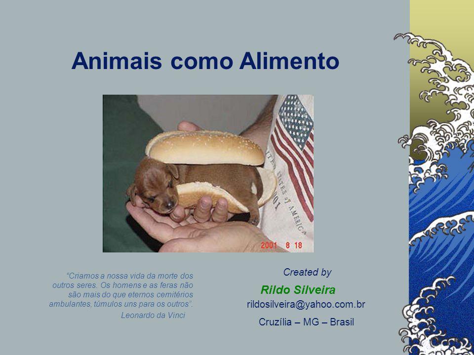 Animais como Alimento Rildo Silveira Created by
