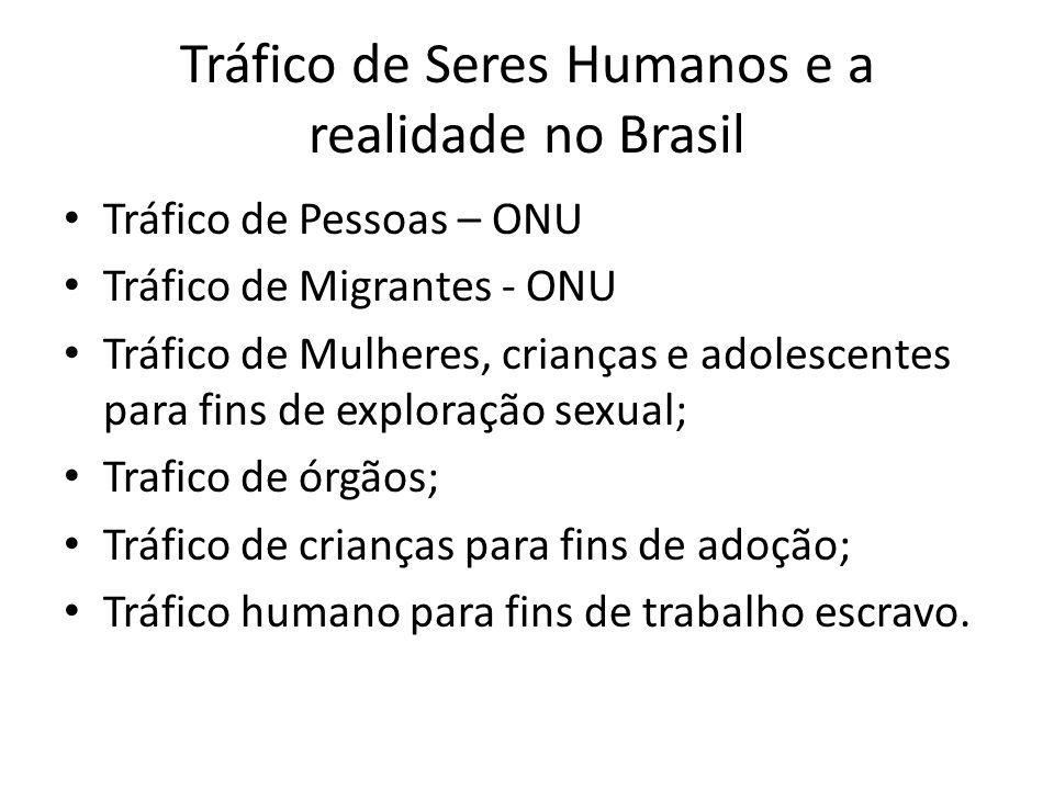 Tráfico de Seres Humanos e a realidade no Brasil