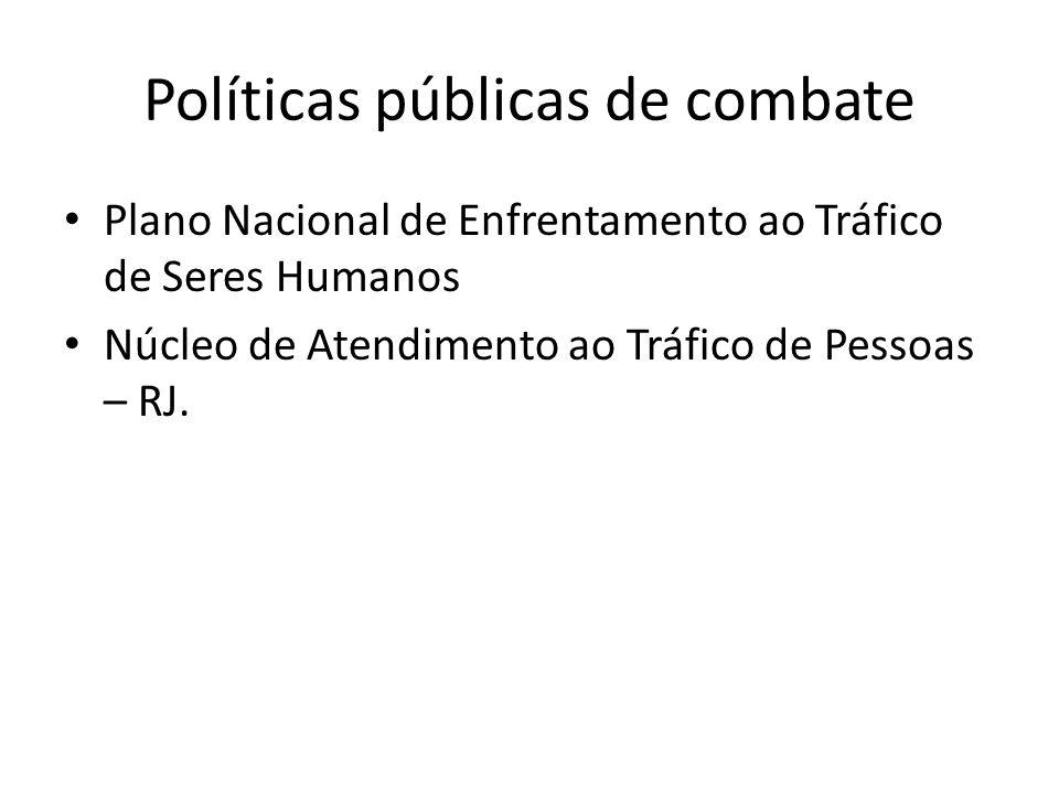 Políticas públicas de combate